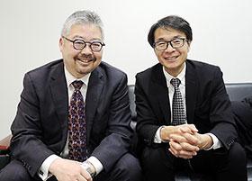 左からツユキ氏、岡田氏